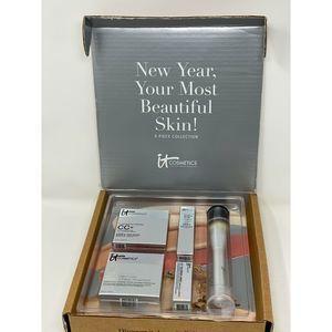 It Cosmetics 5 pc Set CC+ Rich & Love New